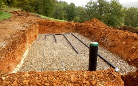 Автономная канализация. Работа фильтрационных конструкций
