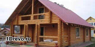 Удобные для сборки срубы домов из калиброванного бревна