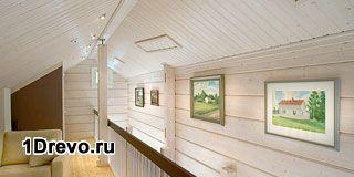 Обделать стену деревянного дома изнутри