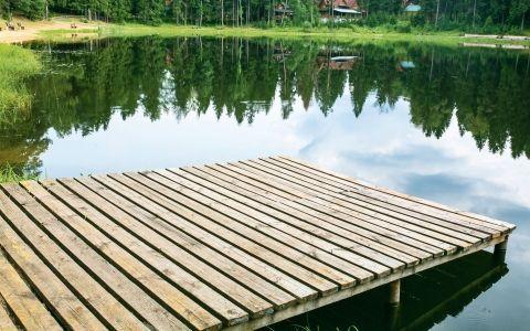 Делаем рыбацкий мостик. Стационарное сооружение либо плавучий понтон