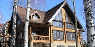 Деревянные оцилиндрованные дома в марий эл от производителей