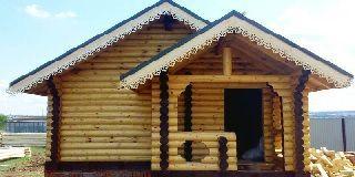 Дом из оцилиндрованного бревна 6 6 или 6 7: особенности