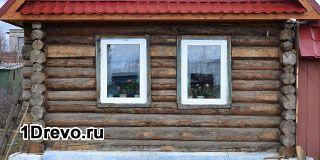Технология утепления фасада бревенчатого дома
