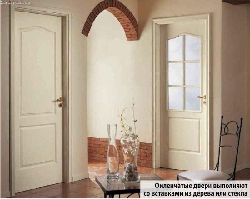 светлые двери в интерьере квартиры