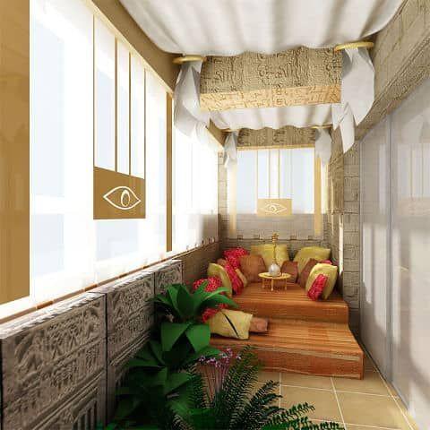 Функциональный уютный балкон: идеи для вашего дома