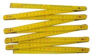 метр деревянный