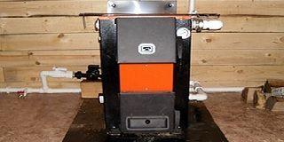 Использование угольного котла для отопления деревянного дома