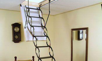 Лестница ножницы