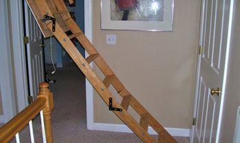 Недостатки складных лестниц
