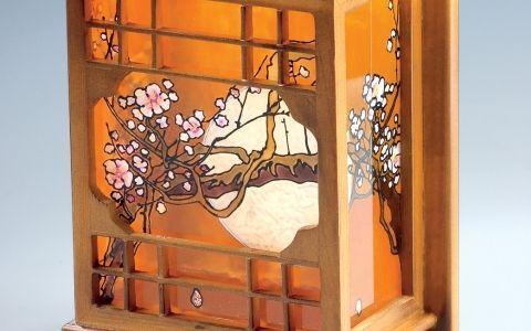 Японский светильник за день. Мастер-класс