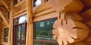 Эксклюзивные деревянные дома из бревна большого диаметра