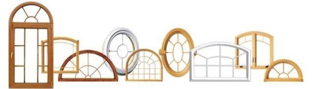 Как делают арочные окна в деревянных домах?