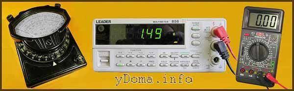 Как измерять напряжение вольтметром