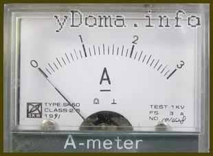 Как измерять силу тока в электрической цепи амперметром
