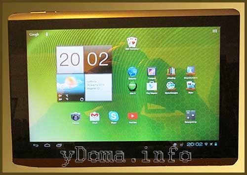 Фотография планшета Acer A500