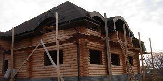 Как построить дом из оцилиндрованного бревна в чувашии