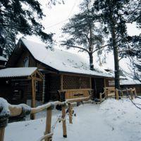 Как строить баню зимой