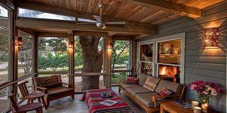 Как утеплить террасу изнутри в деревянном доме - делаем теплую веранду