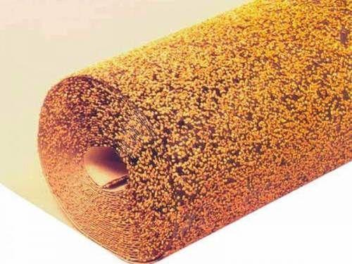 Что такое выравнивающая битумно-пробковая основа под ламинатом, вы видите на фото