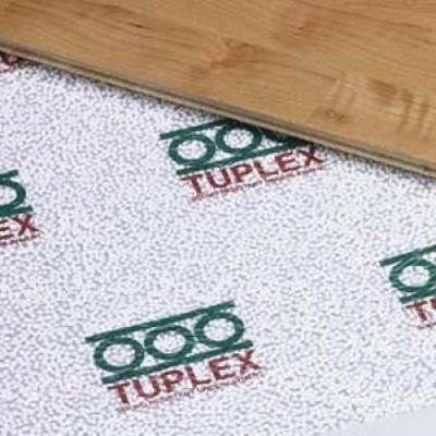 Многие сходятся во мнении, что марка Tuplex в 4 мм, обеспечивающая идеально тихий пол – единственно возможный ответ на вопрос, какая подложка лучше для ламината