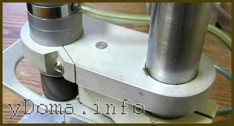 Подвижная пластина мини сверлильного станка