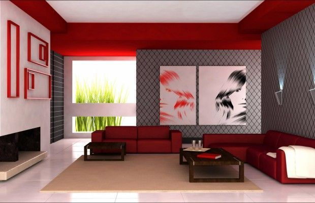 Модные обои в зале: фото в квартире, комбинированные варианты