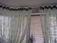 Модные шторы на люверсах на кухню: оригинальный дизайн интерьера