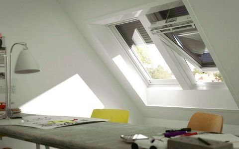 Наружная защита от солнца для мансардных окон