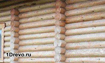 Оптимальная толщина бревна для стен жилого дома