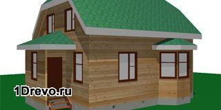 Оптимальный размер брусового дома для проживания