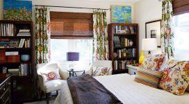Оригинальность бамбуковых штор в интерьере квартиры