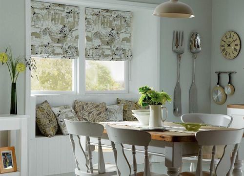 Оригинальные римские шторы на кухню: изысканная изюминка в декоре