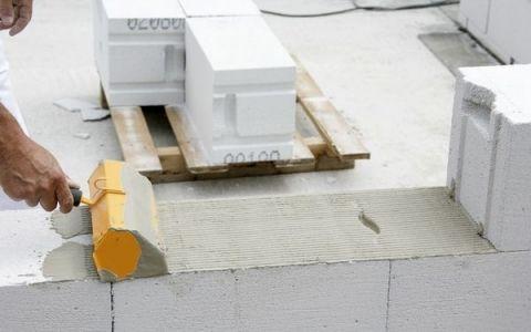 газобетон,фундамент,блок,укладка,стена,армопояс