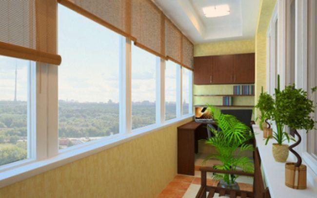 Остекление балконов и отделка их различными материалами