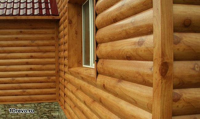 Отделка и обшивка деревянного дома блок-хаусом