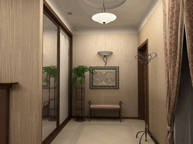 Подбираем обои в коридор: дизайн, фото и 3 правила