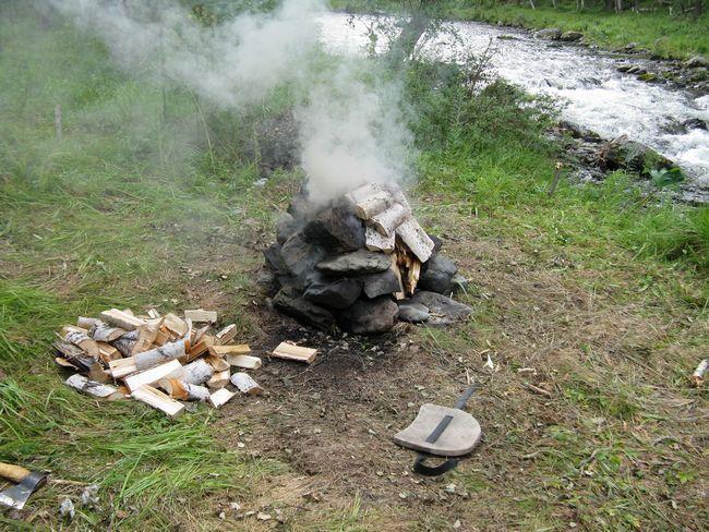 Палатка-баня: как сделать своими руками