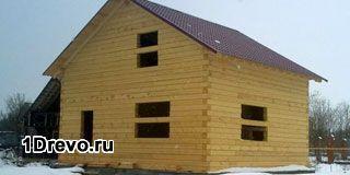 Проектирование дома из бруса под ключ 8 на 8