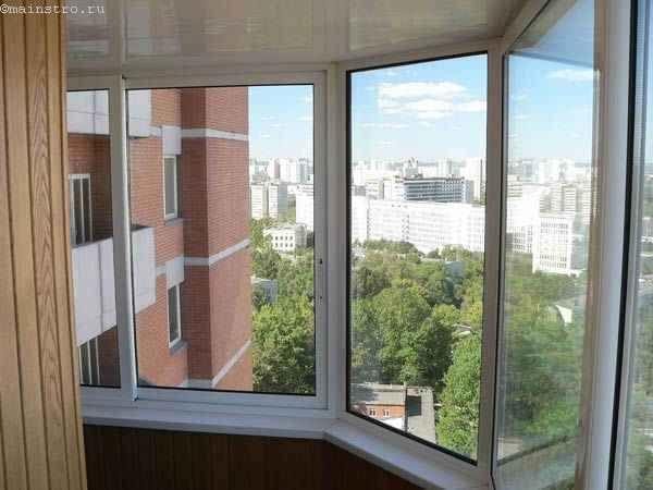 ПВХ профиль для остекления балконов и лоджий