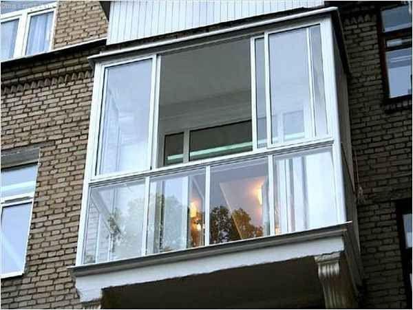 Профиль для остекления балконов и лоджий с энергосберегающими стеклами