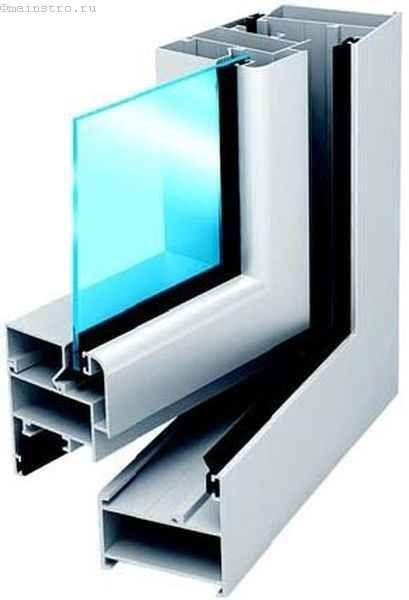 Холодный алюминиевый профиль для остекления балконов и лоджий