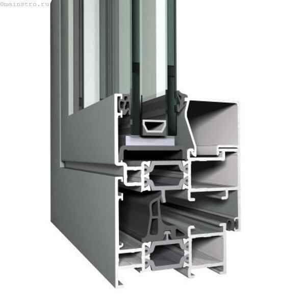 Тёплый алюминиевый профиль для остекления балконов и лоджий