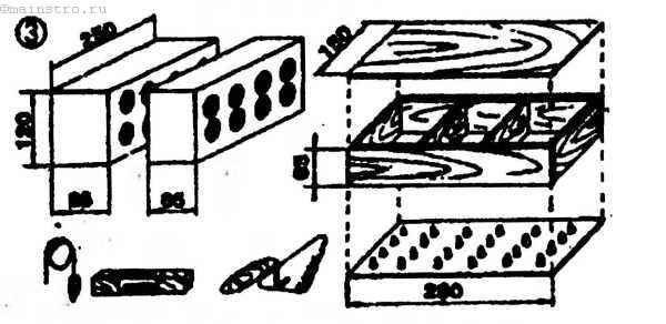 Форма для изготовления кирпича своими руками