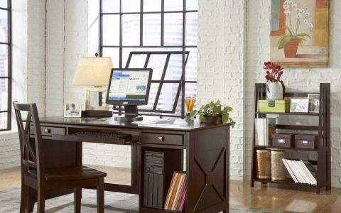 Рабочий кабинет: отделка и оборудование