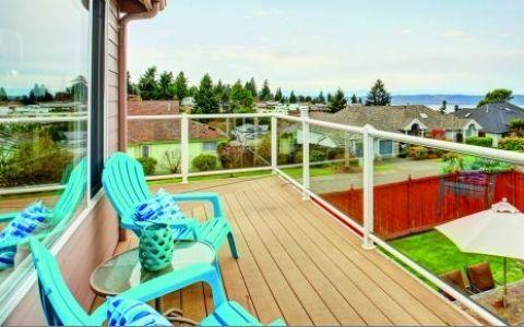 Разные виды балконов – французский, испанский и американский