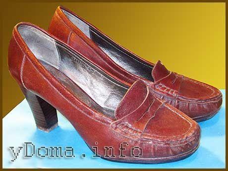Ремонт обуви – набойка на каблук своими руками