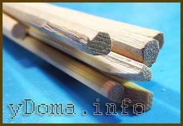 Деревянные японские палочки
