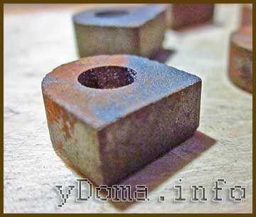 Набойка из порошкового металла