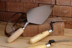 Инструменты для укладки кирпичей
