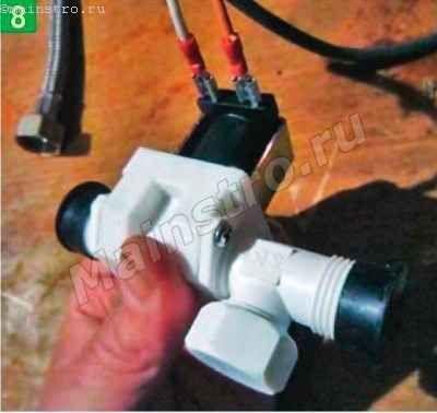 выводы электромагнитного клапана